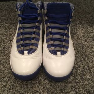 Air Jordan 10 Royal Blue 2011 Size 115